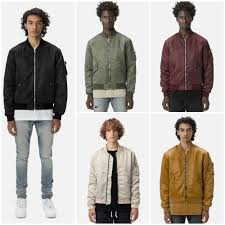 john elliott street style plain ma 1 khaki er jackets 2018 19aw