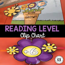 Flower Chart Flower Reading Level Clip Chart All Leveling Systems