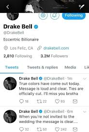 drake bell & josh peck hug it out during 2017 mtv video music awards Not Invited To Wedding Hurt the tweets have since been deleted and bell later stated he was just in his feelings at the time and realized he overreacted however, at the height of the not invited to wedding but bridal shower