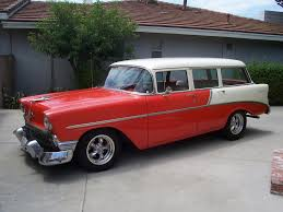 1956 Chevrolet 210 Four Door Wagon Project Pictures - TriFive.com ...