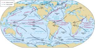 ocean currents factors responsible effects in wind map world