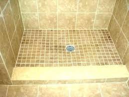 tile over fiberglass shower bases custom pans pan kit til
