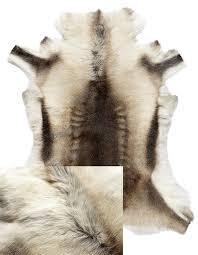 reindeer hide light dark