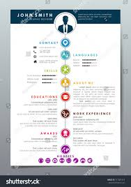 Resume Design Template. Classic Resume Design Template Set Classic ...
