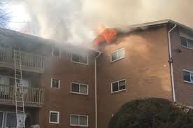 heavy fire forces evacuation of rockville apartment building wtop