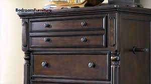 Ashley Key Town Panel Bedroom Set in Dark Brown SALE - YouTube