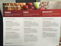 Dl Foodservice Design Delta In Flight Meal Food Service The Definitive Thread