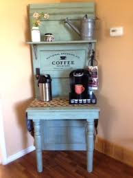 home coffee bar furniture. 37 use an old door to create your coffee heaven home bar furniture 1