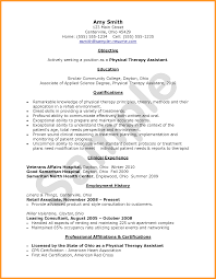 Interesting Recreational Therapist Resume Sample For Physical