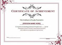 Certificate Of Recognition Template Free Download 12 Best Certificate Template Images Award Certificates