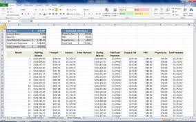 Mortgage Refinance Calculator Excel Mortgage Loan Calculator Using Excel Turbofuture