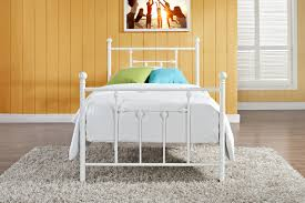 bedroom february metal twin platform bed59 metal