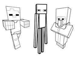 These pictures are really hard to colour but it is still awsome 4 years ago. Minecraft Free Printable Coloring Pages For Kids