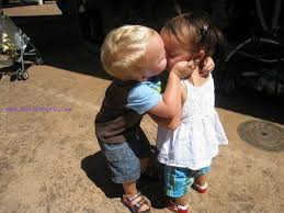 kissing baby cute baby