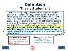 definition essay thesis statement examples analytical essay  5 definition definition essay thesis statement examples
