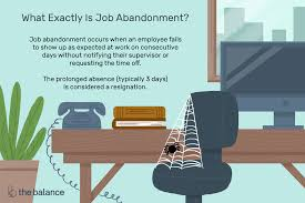Employee Absent Exactly What Constitutes Job Abandonment