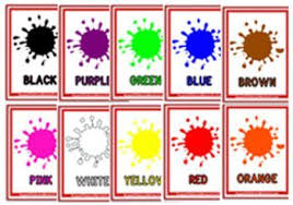 Our collection of flashcards consists of 80 sets, a total of 259 flash cards. Colours Flash Cards Colour Words Flashcards Colour Objects Flashcards To Teach Colours To Children Pr Color Flashcards Printable Flash Cards Learning Colors