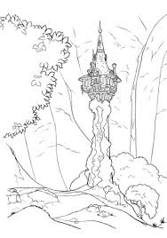 Small Picture Tangled coloring pages Free Coloring Pages
