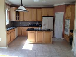 kitchens with white appliances. Honey Cabinets Kitchen Awesome Granite Countertops With White Appliances And Oak Kitchens P