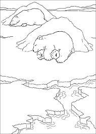 Kids N Fun Kleurplaat Lars De Kleine Ijsbeer Kleine Ijsbeer Slaapt