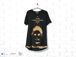 T Shirt Template Enchanting Go Media Arsenal Shirt Mockup Templates Download Free Hanging T Mock