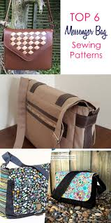 Messenger Bag Pattern Classy 48 Best Messenger Bag Patterns That Are Easy To Sew Sew Some Stuff