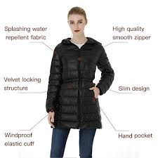 Orolay Women S Thickened Down Jacket Size Chart