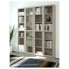 glass door bookcases small ikea library