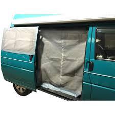 sliding door mosquito net for vw t4 left hand side nla parts