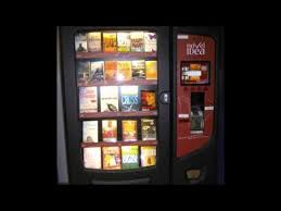 Book Vending Machine Magnificent Book Vending Machines Fad Or Future YouTube
