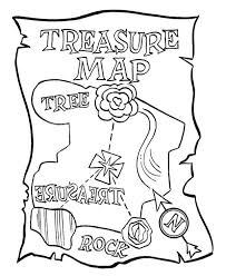Small Picture Printable Pirate Map Coloring Pages Coloring Pages