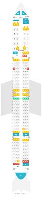 Seat Map Boeing 757 300 753 Icelandair Find The Best