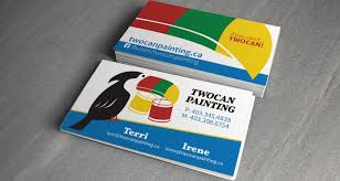twocan painting business cards