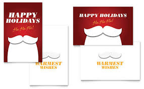 Greeting Card Templates | Business Greeting Card Designs