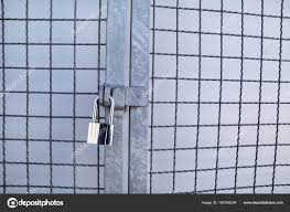 Metal chain fence gate Gap Padlock On Chainlink Fence Master Key And Old Rusty Chain With Steel Cage Close Up Closed Lock With Chain On An Old Metal Fence Metallic Locks To Smotgoinfocom Padlock Chainlink Fence Master Key Old Rusty Chain Steel Cage