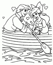 Little Mermaid Coloring Pages At - glum.me