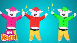 3 Chú Heo Con Nhảy Xúc Xắc Xúc Xẻ ♫ Ca Nhạc Thiếu Nhi Vui Nhộn - Tuyển tập nhạc  thiếu nhi hay. - #1 Xem lời bài hát