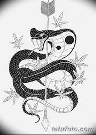 черно белый эскиз тату змея 11032019 059 Tattoo Sketch