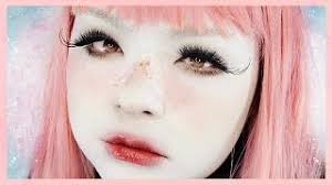 look like a living doll makeup tutorial 白塗りメイク shironuri series