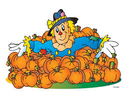 Scarecrow In Pumpkins | Printable Clip Art and Images