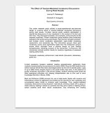 What Is The Research Proposal Stunning Action Research Proposal Template For Word PDF Format
