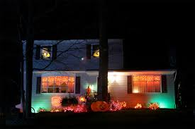halloween outdoor lighting. brilliant outdoor 12 clever ways to light up your home for halloween scary good savings in halloween outdoor lighting