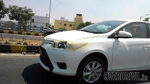 new car launches in bangaloreToyota Vios sedan spied again launch likely at 2016 Auto Expo