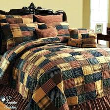 cabin bedding clearance brown log