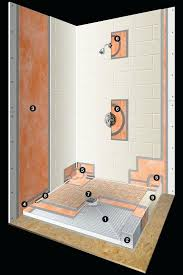 schluter kerdi shower pan shower systems this is how we build a custom shower for our customers