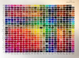Watercolor Chart Winsor Newton Winsor And Newton Professional Watercolor Chart Www