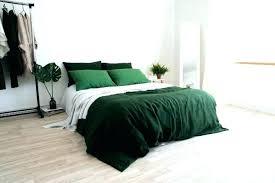 dark green duvet cover nz bedding sets marvelous emerald medium size of linen du