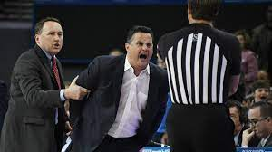 Arizona basketball coach Sean Miller ...