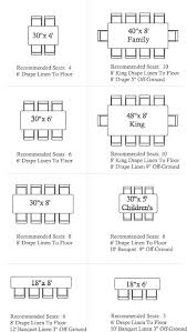 wedding table size chart. head table length estimates. at 2 ft per person, with 8 attendants and bride wedding size chart