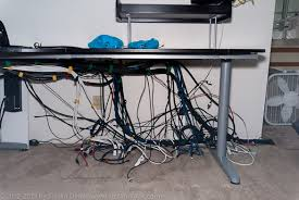 home office cable management. stefan didak home office 7 making of cable management i